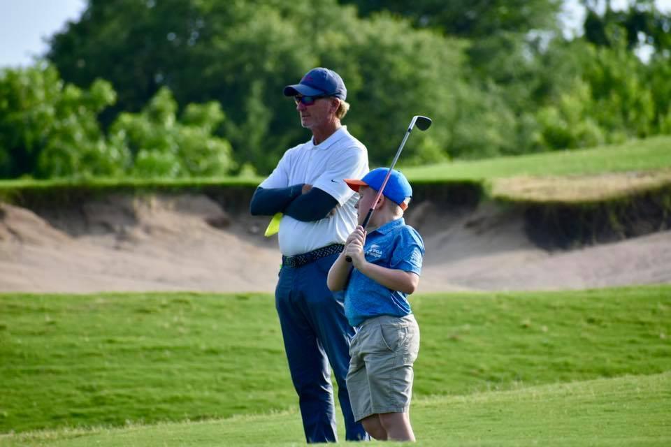Golf Lesson Tab - Jr Academy - Center of page